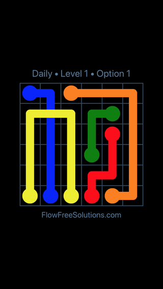 Solution and Answer to the Puzzle for Bridges Date Monday, January 8, 2018 Level 1