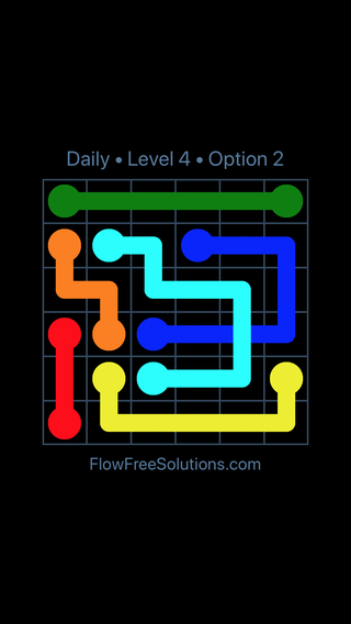 Solution and Answer to the Puzzle for Bridges Date Monday, January 8, 2018 Level 4