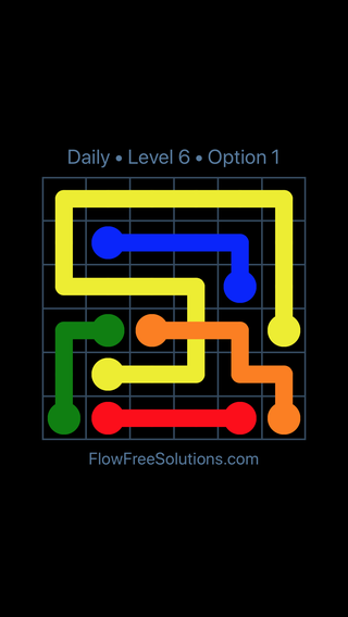 Solution and Answer to the Puzzle for Bridges Date Monday, January 8, 2018 Level 6