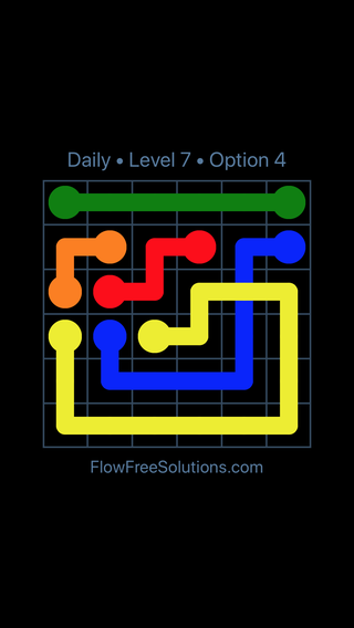Solution and Answer to the Puzzle for Bridges Date Monday, January 8, 2018 Level 7