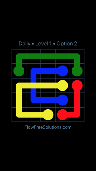 Solution and Answer to the Puzzle for Bridges Date Thursday, April 12, 2018 Level 1