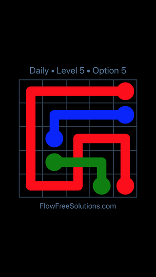 Solution and Answer to the Puzzle for Bridges Date Thursday, April 12, 2018 Level 5