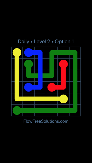 Solution and Answer to the Puzzle for Bridges Date Friday, April 13, 2018 Level 2