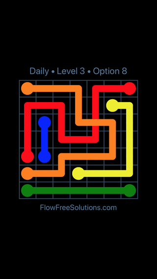 Solution and Answer to the Puzzle for Bridges Date Friday, March 15, 2019 Level 3