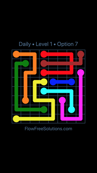 Solution and Answer to the Puzzle for Bridges Date Saturday, July 7, 2018 Level 1