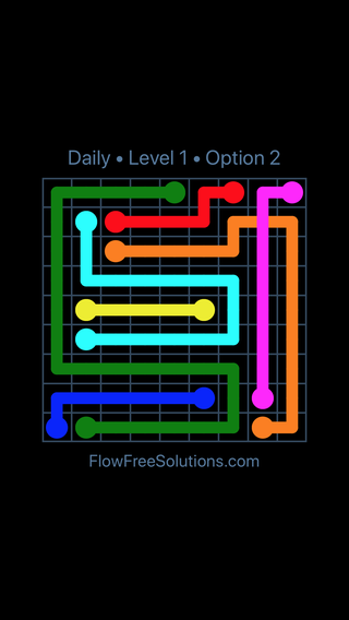 Solution and Answer to the Puzzle for Bridges Date Sunday, April 15, 2018 Level 1