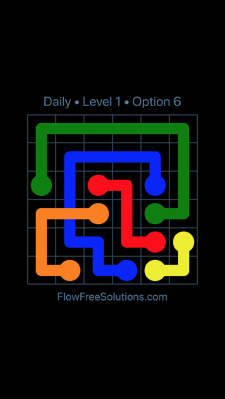 Solution and Answer to the Puzzle for Bridges Date Monday, April 16, 2018 Level 1