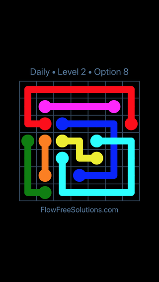 Solution and Answer to the Puzzle for Bridges Date Monday, July 9, 2018 Level 2