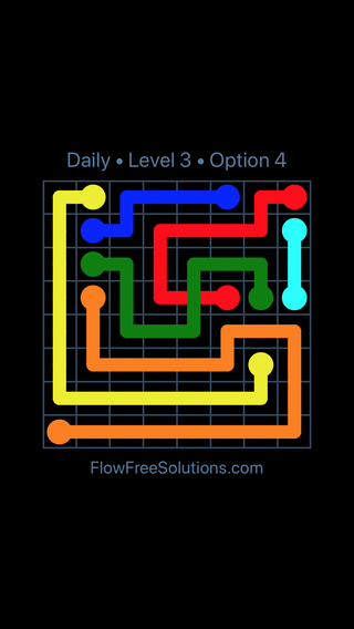 Solution and Answer to the Puzzle for Bridges Date Monday, July 9, 2018 Level 3