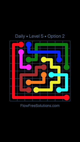 Solution and Answer to the Puzzle for Bridges Date Monday, July 9, 2018 Level 5