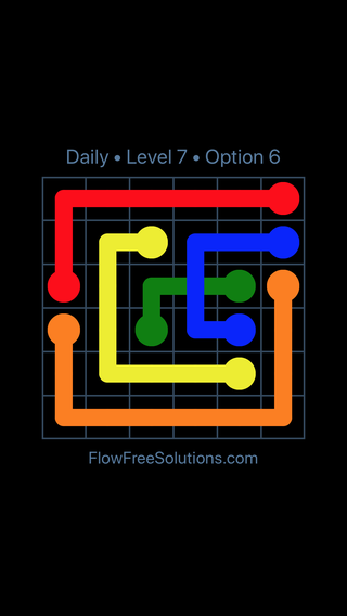 Solution and Answer to the Puzzle for Bridges Date Monday, April 16, 2018 Level 7