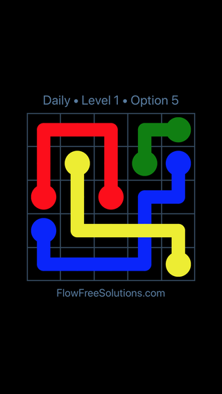 Solution and Answer to the Puzzle for Bridges Date Tuesday, July 10, 2018 Level 1