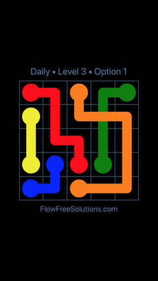 Solution and Answer to the Puzzle for Bridges Date Tuesday, July 10, 2018 Level 3