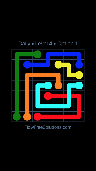 Solution and Answer to the Puzzle for Bridges Date Tuesday, July 10, 2018 Level 4
