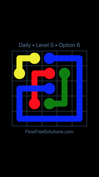 Solution and Answer to the Puzzle for Bridges Date Tuesday, July 10, 2018 Level 5