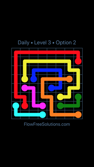 Solution and Answer to the Puzzle for Bridges Date Thursday, July 12, 2018 Level 3