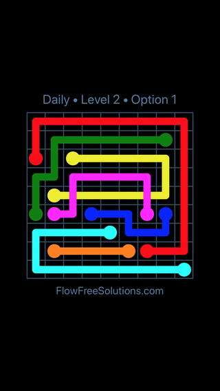 Solution and Answer to the Puzzle for Bridges Date Friday, July 13, 2018 Level 2