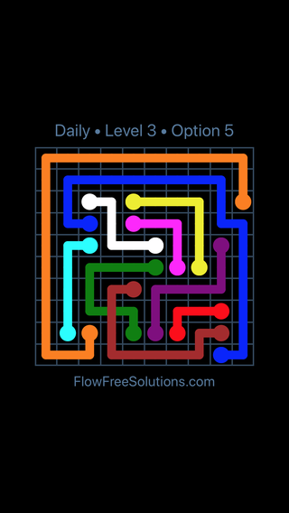 Solution and Answer to the Puzzle for Bridges Date Friday, September 6, 2019 Level 3