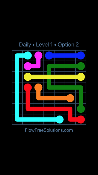 Solution and Answer to the Puzzle for Bridges Date Tuesday, January 9, 2018 Level 1