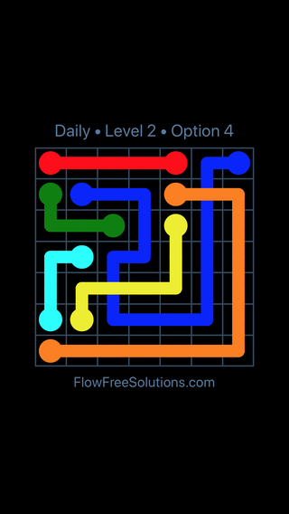 Solution and Answer to the Puzzle for Bridges Date Tuesday, January 9, 2018 Level 2