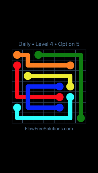 Solution and Answer to the Puzzle for Bridges Date Tuesday, January 9, 2018 Level 4