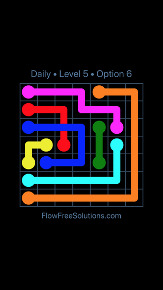 Solution and Answer to the Puzzle for Bridges Date Tuesday, January 9, 2018 Level 5