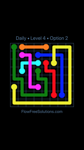 Solution and Answer to the Puzzle for Bridges Date Monday, October 8, 2018 Level 4