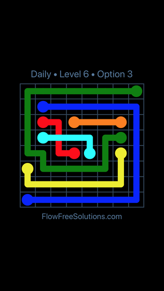 Solution and Answer to the Puzzle for Bridges Date Monday, September 9, 2019 Level 6