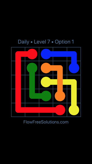 Solution and Answer to the Puzzle for Bridges Date Wednesday, October 10, 2018 Level 7