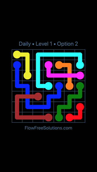 Solution and Answer to the Puzzle for Bridges Date Thursday, October 11, 2018 Level 1