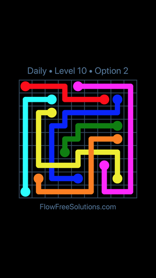 Solution and Answer to the Puzzle for Bridges Date Saturday, November 11, 2017 Level 10