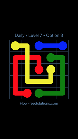 Solution and Answer to the Puzzle for Bridges Date Sunday, November 12, 2017 Level 7