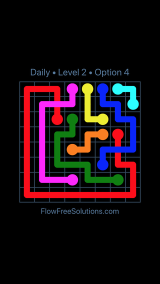 Solution and Answer to the Puzzle for Bridges Date Monday, January 7, 2019 Level 2