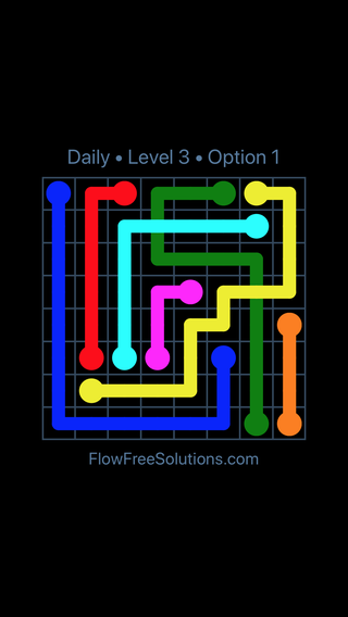 Solution and Answer to the Puzzle for Bridges Date Monday, November 13, 2017 Level 3