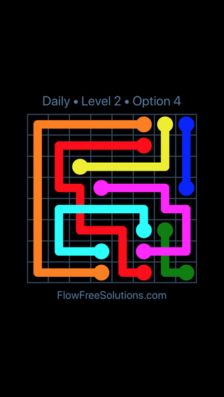 Solution and Answer to the Puzzle for Bridges Date Wednesday, January 10, 2018 Level 2