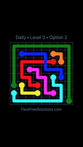 Solution and Answer to the Puzzle for Bridges Date Wednesday, January 10, 2018 Level 3