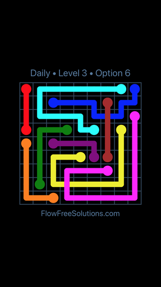 Solution and Answer to the Puzzle for Bridges Date Tuesday, January 8, 2019 Level 3