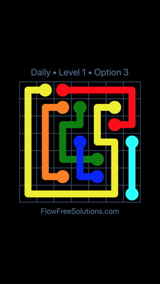 Solution and Answer to the Puzzle for Bridges Date Friday, February 9, 2018 Level 1