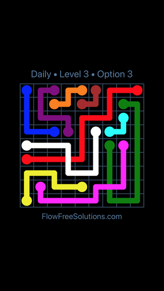 Solution and Answer to the Puzzle for Bridges Date Friday, February 9, 2018 Level 3