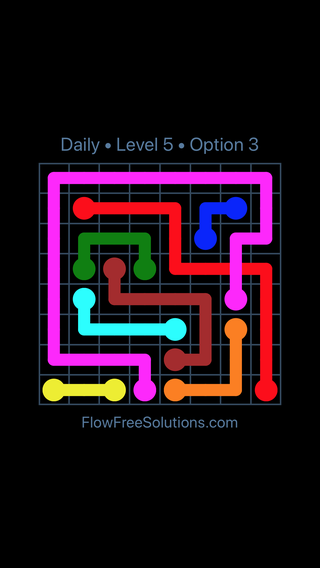 Solution and Answer to the Puzzle for Bridges Date Friday, February 9, 2018 Level 5