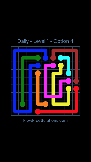 Solution and Answer to the Puzzle for Bridges Date Saturday, February 10, 2018 Level 1