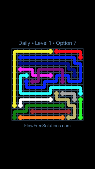 Solution and Answer to the Puzzle for Bridges Date Sunday, February 11, 2018 Level 1