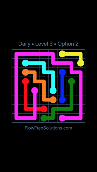 Solution and Answer to the Puzzle for Bridges Date Sunday, February 11, 2018 Level 3