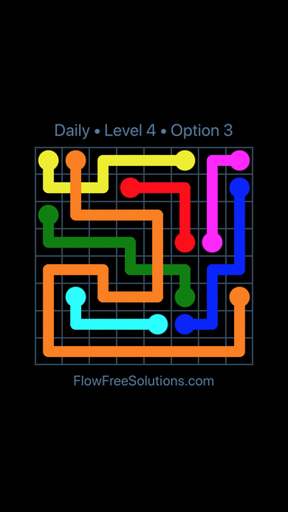 Solution and Answer to the Puzzle for Bridges Date Wednesday, February 14, 2018 Level 4