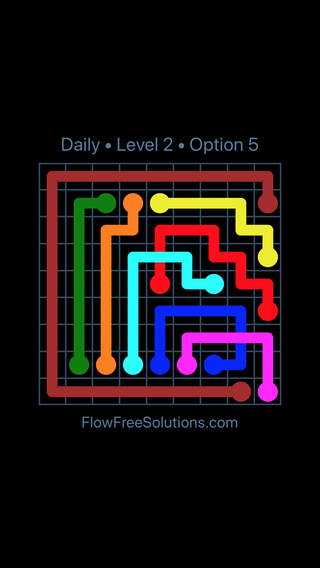 Solution and Answer to the Puzzle for Bridges Date Thursday, January 11, 2018 Level 2
