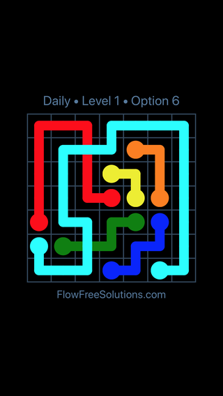 Solution and Answer to the Puzzle for Bridges Date Friday, May 11, 2018 Level 1