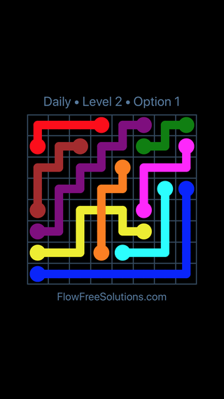 Solution and Answer to the Puzzle for Bridges Date Friday, May 11, 2018 Level 2