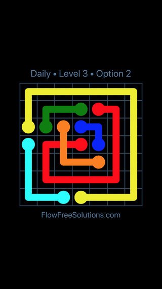 Solution and Answer to the Puzzle for Bridges Date Friday, May 11, 2018 Level 3