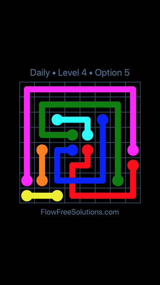 Solution and Answer to the Puzzle for Bridges Date Friday, May 11, 2018 Level 4
