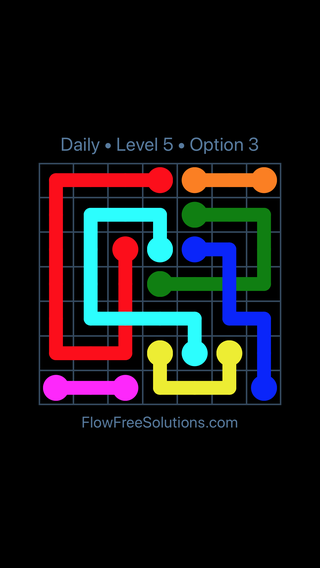 Solution and Answer to the Puzzle for Bridges Date Friday, May 11, 2018 Level 5